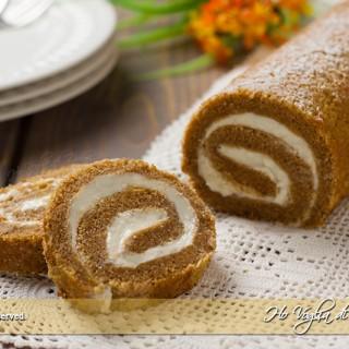 Rotolo dolce di zucca (Pumpkin Roll)