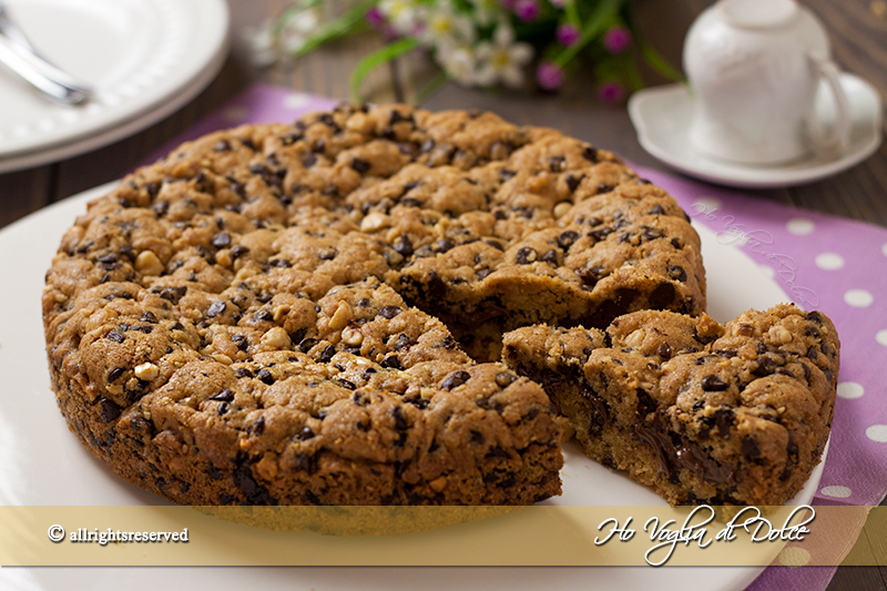 Torta cookie- cookie cake