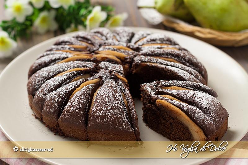 Torta-di-pere-e-cacao-soffice