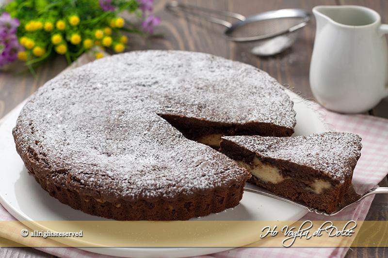 Crostata morbida crema e Nutella