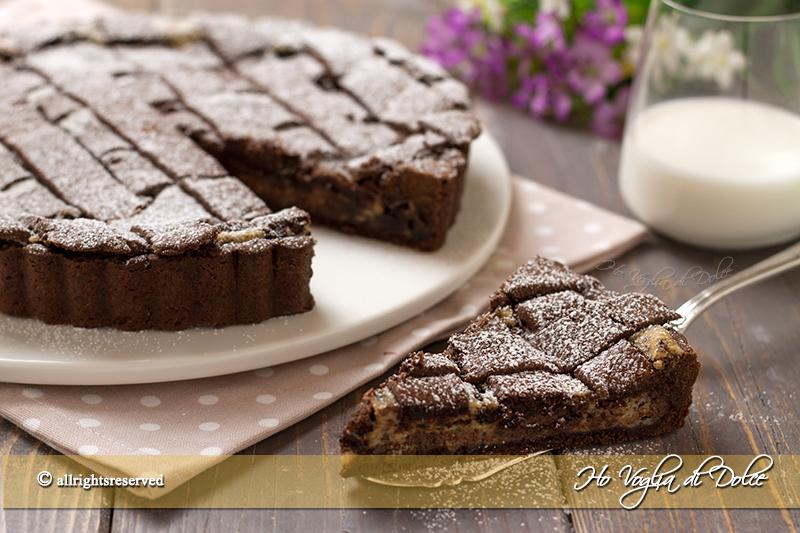 Crostata-al-cacao-con-ricotta-e-cioccolato