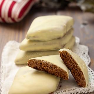 Mostaccioli al cioccolato bianco e limoncello