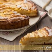 Crostata morbida di mele e crema
