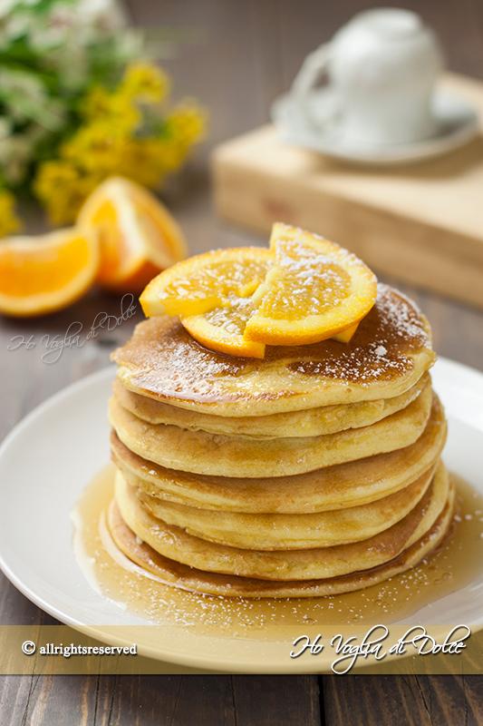 Pancakes-all'arancia-e-miele