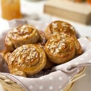 Girelle al miele (senza uova e burro)
