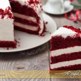 Torta red velvet americana originale
