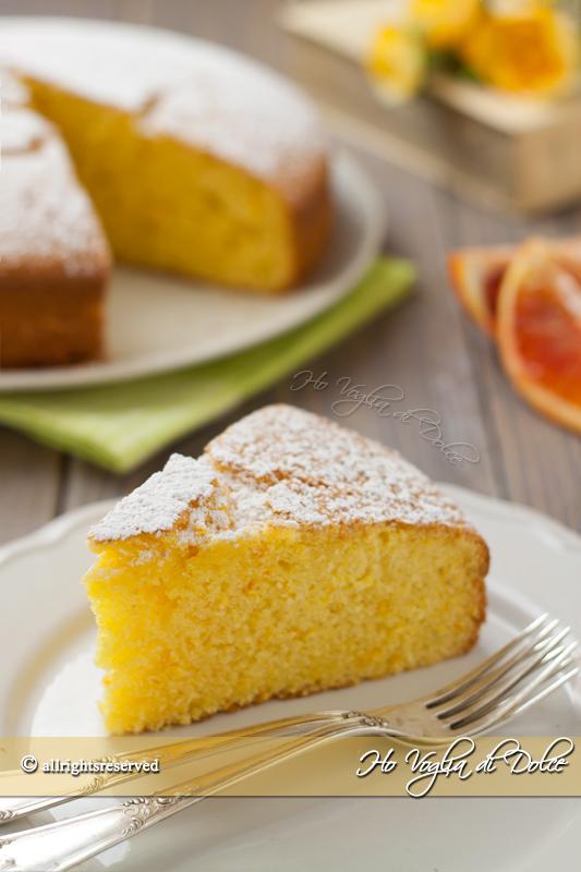 Pan d'arancio ricetta
