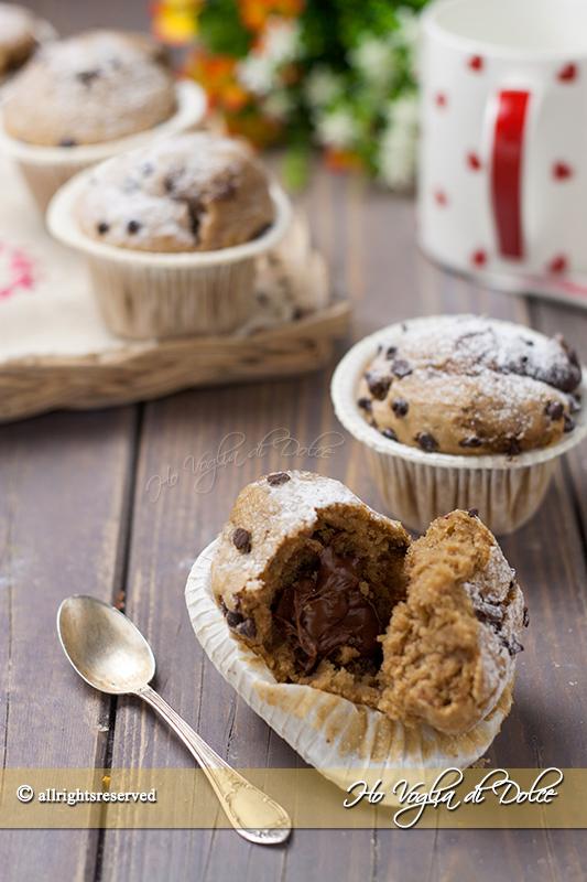 muffin-al-caffe-con-cuore-di-nutella