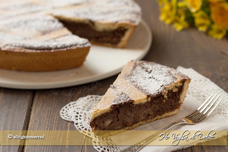 Pastiera-di-riso-al-cioccolato--ricetta-dolce