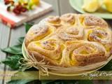 Torta di rose con crema al limone ricetta