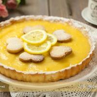 Crostata con lemon curd (lemon tart)
