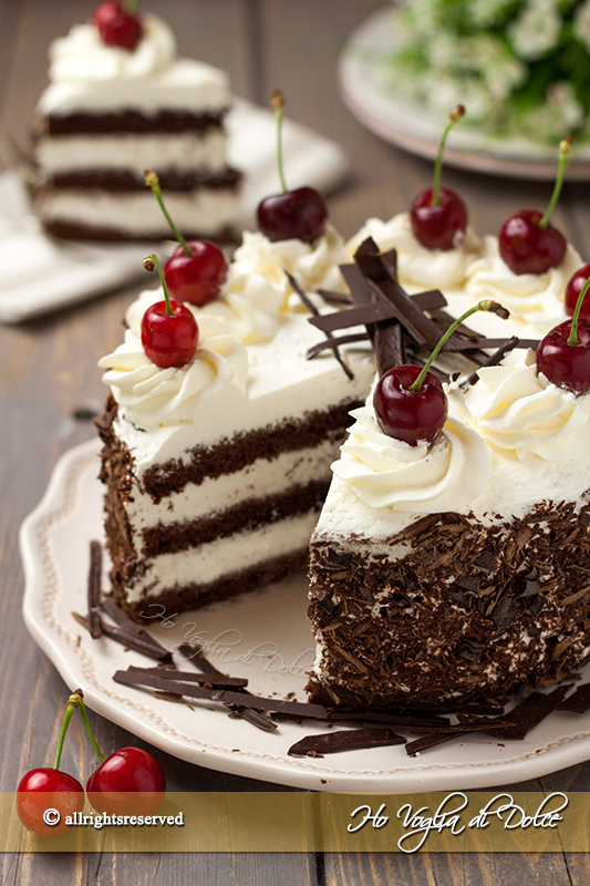Torta foresta nera Schwarzwälder Kirschtorte ricetta