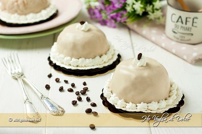 Torta di crema e caffè tgcom