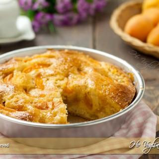 Crostata soffice di albicocche