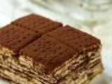 Mattonella di biscotti e crema ricetta senza cottura