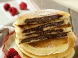 Pancakes ripieni alla Nutella ricetta