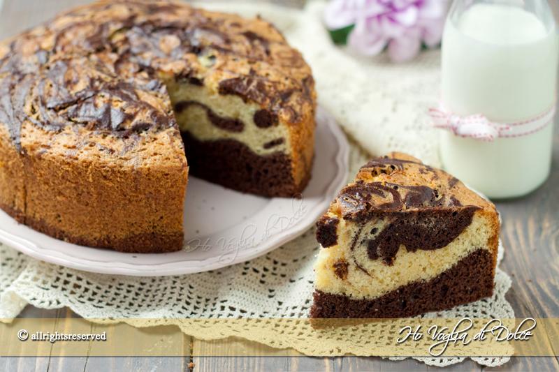 Favoloso Torta marmorizzata ricetta | Ho Voglia di Dolce QK37