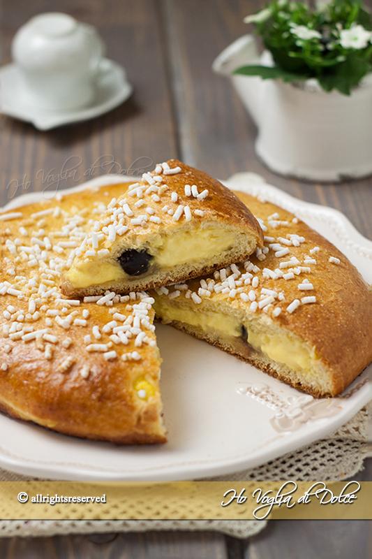 La polacca di aversa ricetta dolce tradizionale
