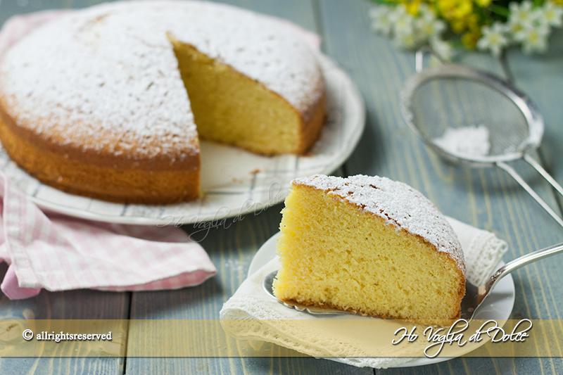 Dolci Da Credenza Alice Ricette : Torta margherita soffice ricetta ho voglia di dolce