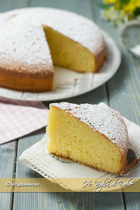 Torta margherita ricetta facile