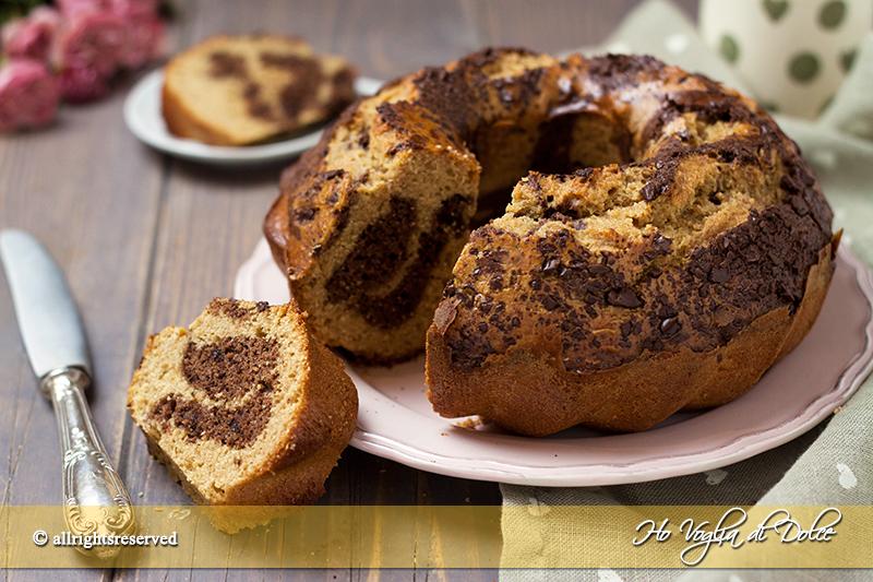 Ciambella al farro e cioccolato ricetta facile