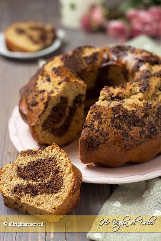 Ciambella al farro e cioccolato ricetta genuina