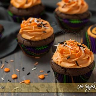 Cupcakes di Halloween al cioccolato