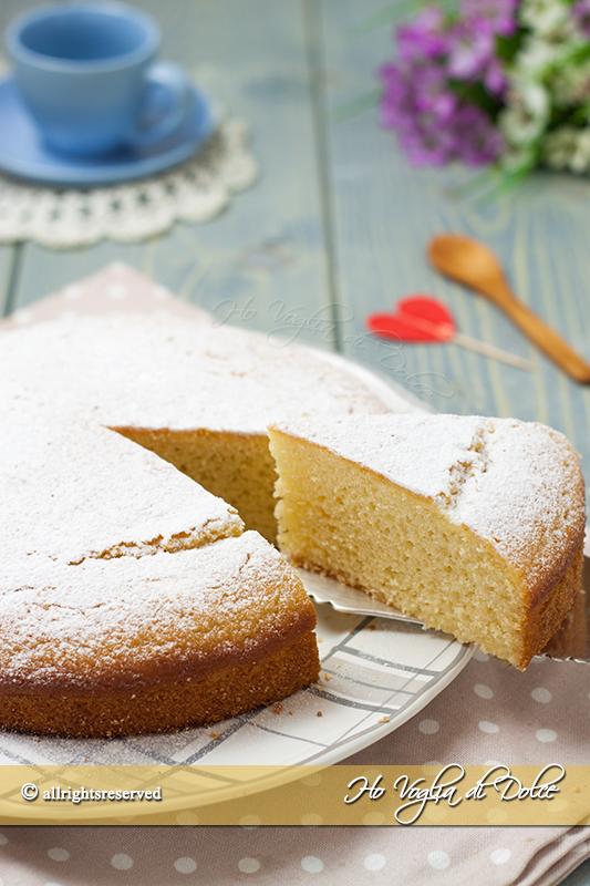 Torta 5 minuti senza glutine ricetta veloce
