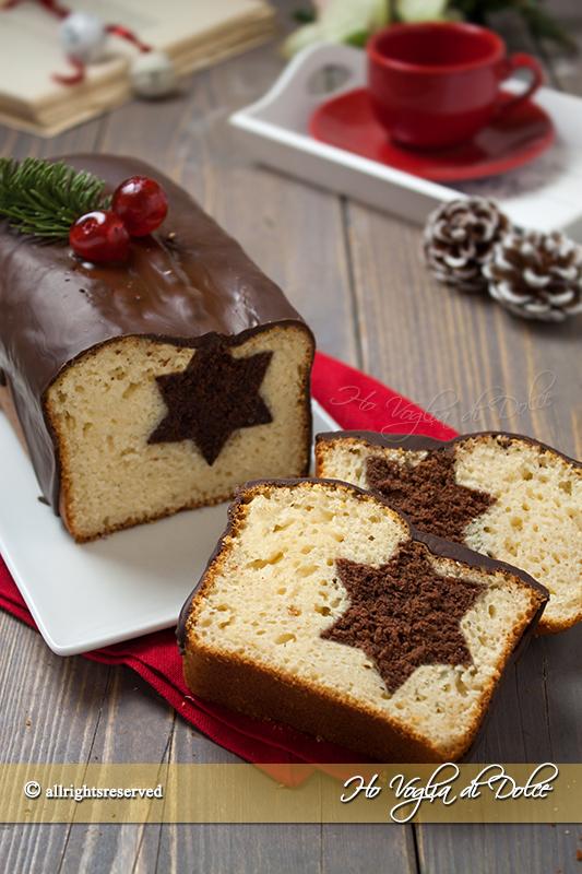 Torta Con Stella Di Natale.Plumcake Di Natale Con Stella A Sorpresa