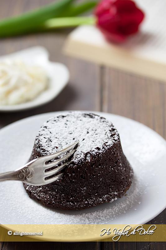 Tortino Al Cioccolato Dal Cuore Morbido Ho Voglia Di Dolce