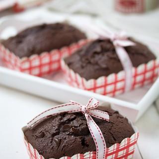 Mini plumcake al cioccolato e panna