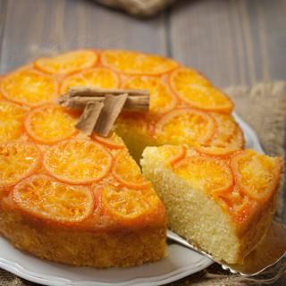 Torta rovesciata di mandarini