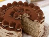 Torta di crepes tiramisù mille crepe cake ricetta facile