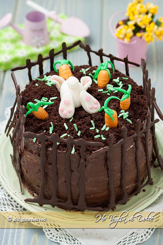 Torta coniglietto di Pasqua ricetta passo passo