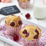 muffin alle ciliegie ricetta velocissima