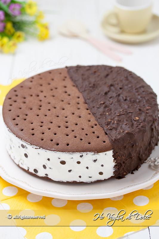 Torta biscotto gelato bigusto ricetta facile
