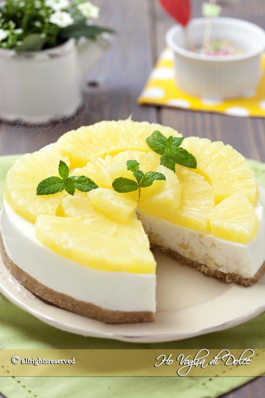 cheesecake-all'ananas-senza-cottura-ricetta
