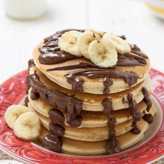 Pancakes banana e Nutella