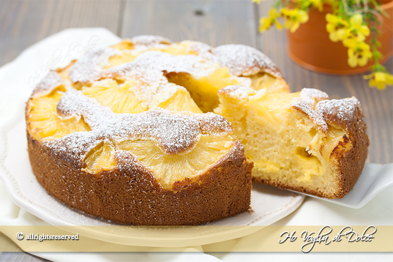 Ananas fresco ricette dolci