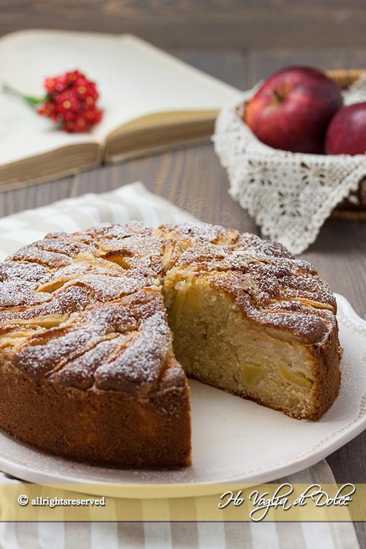 torta di mele e yogurt ricetta soffice e veloce