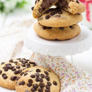 cookies ripieni alla nutella