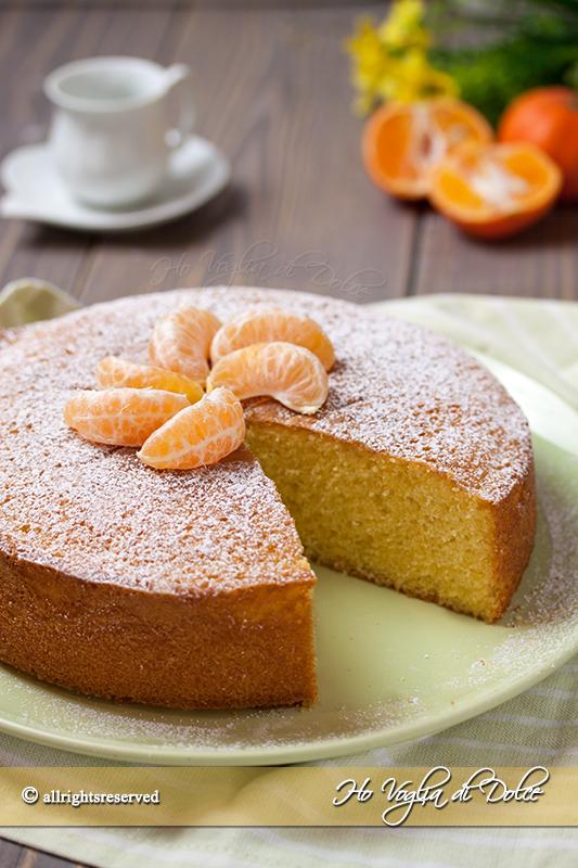 torta ai mandarini ricetta soffice