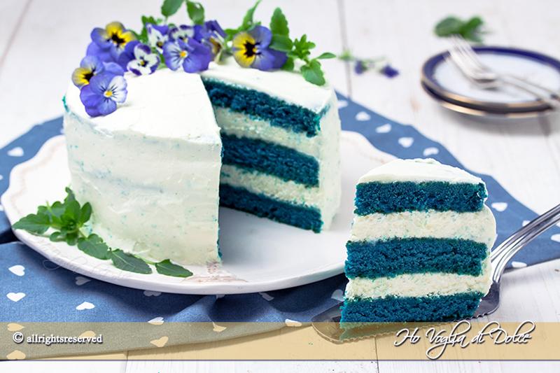 blue velvet cake torta americana ricetta passo passo