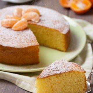 Torta di mandarini e yogurt