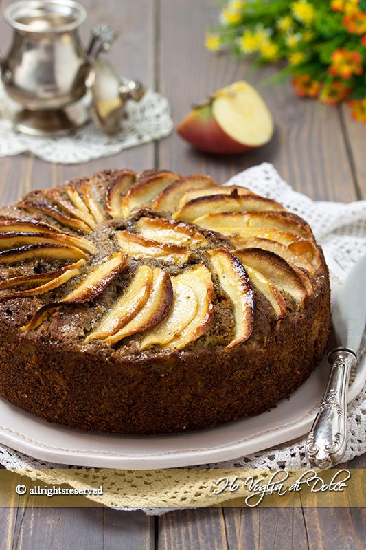 torta di mele e grano saraceno ricetta facile senza glutine