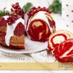 ciambella red velvet marmorizzata ricetta facile e veloce