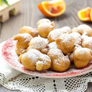 Frittelle all'arancia