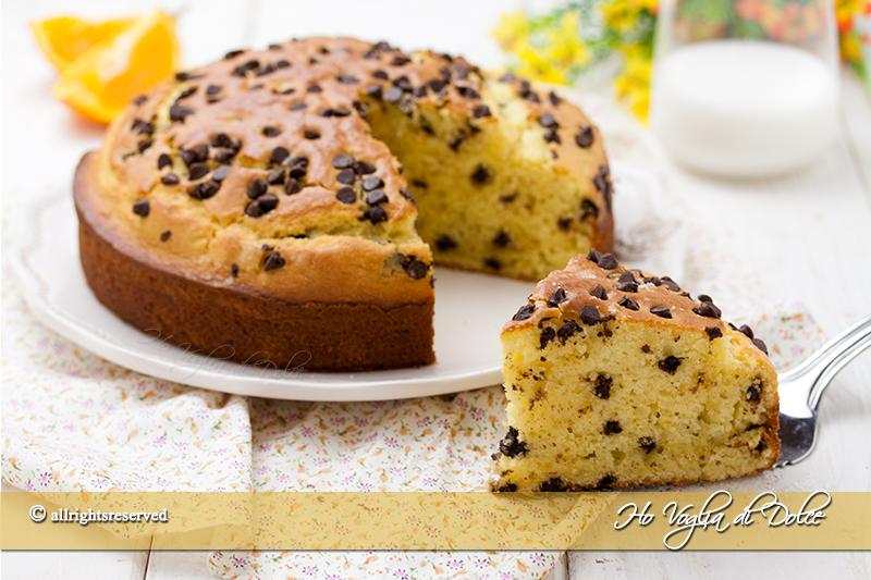 torta-allarancia-e-mascarpone-con-gocce-di-cioccolato-ricetta