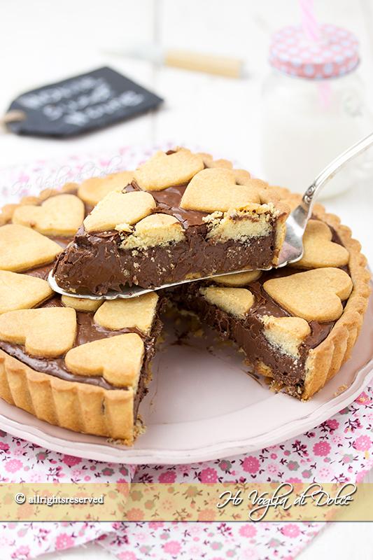 Crostata alla Nutella che rimane cremosa ricetta | Ho Voglia di Dolce