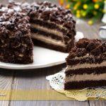 Torta mimosa al cioccolato ricetta | Ho Voglia di Dolce